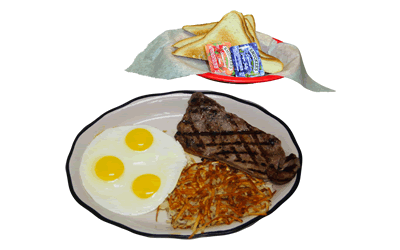NY Steak & Eggs