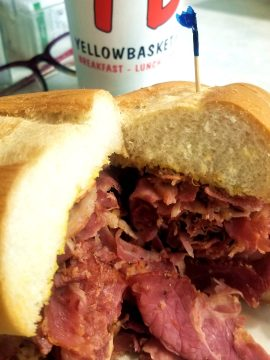 Restaurants - Pastrami Sandwich