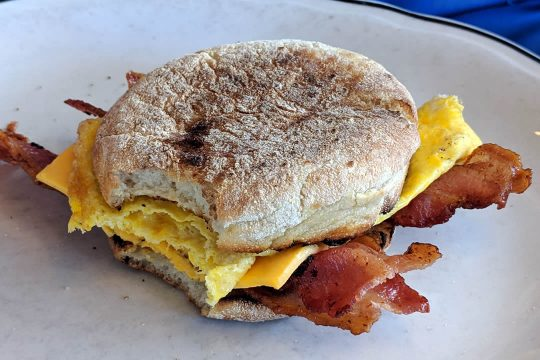 Restaurant Temecula - Bacon Cheese Muffin