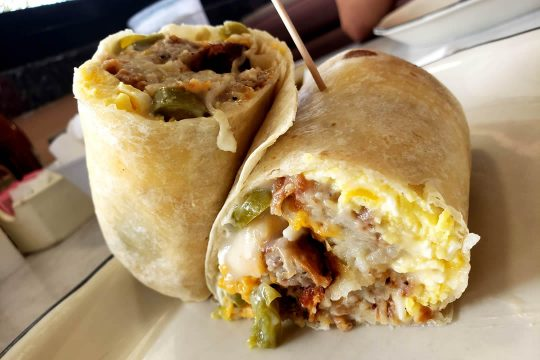 Yellow Basket Santa Ana - Burrito