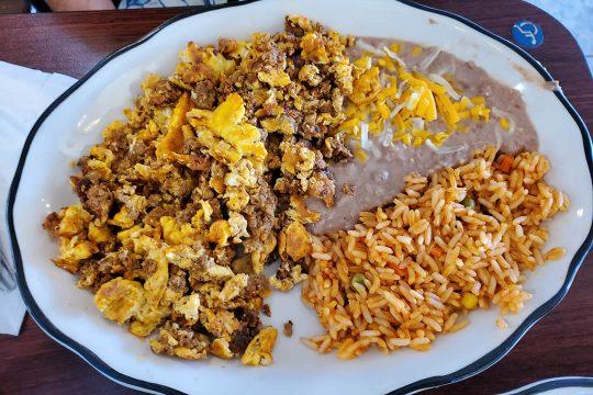 Yellow Basket Santa Ana - Chorizo Plate