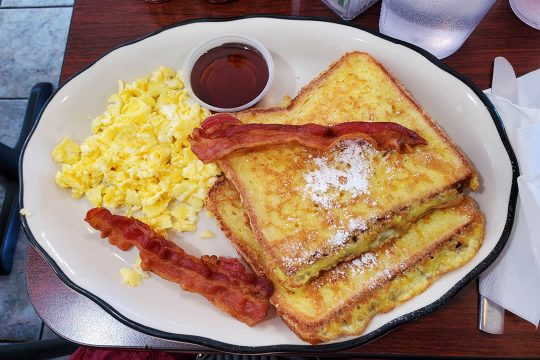 Yellow Basket Santa Ana - French Toast Special