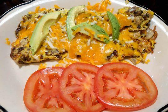 Restaurant in Wildomar - Vegetarian Omelette
