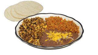 Chorizo Plate Breakfast